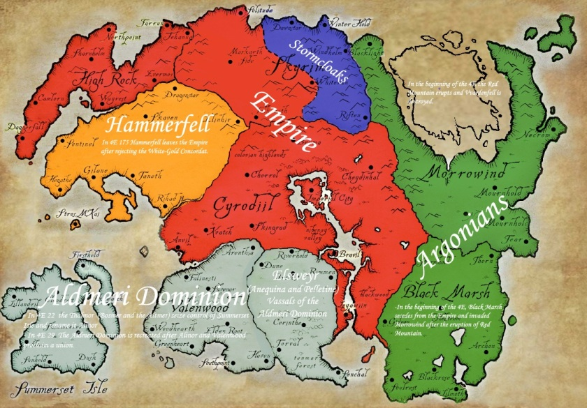Great-map-of-Tamriel-at-the-time-of-Skyrim