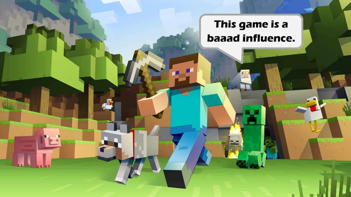 Is Minecraft Bad forAdults?