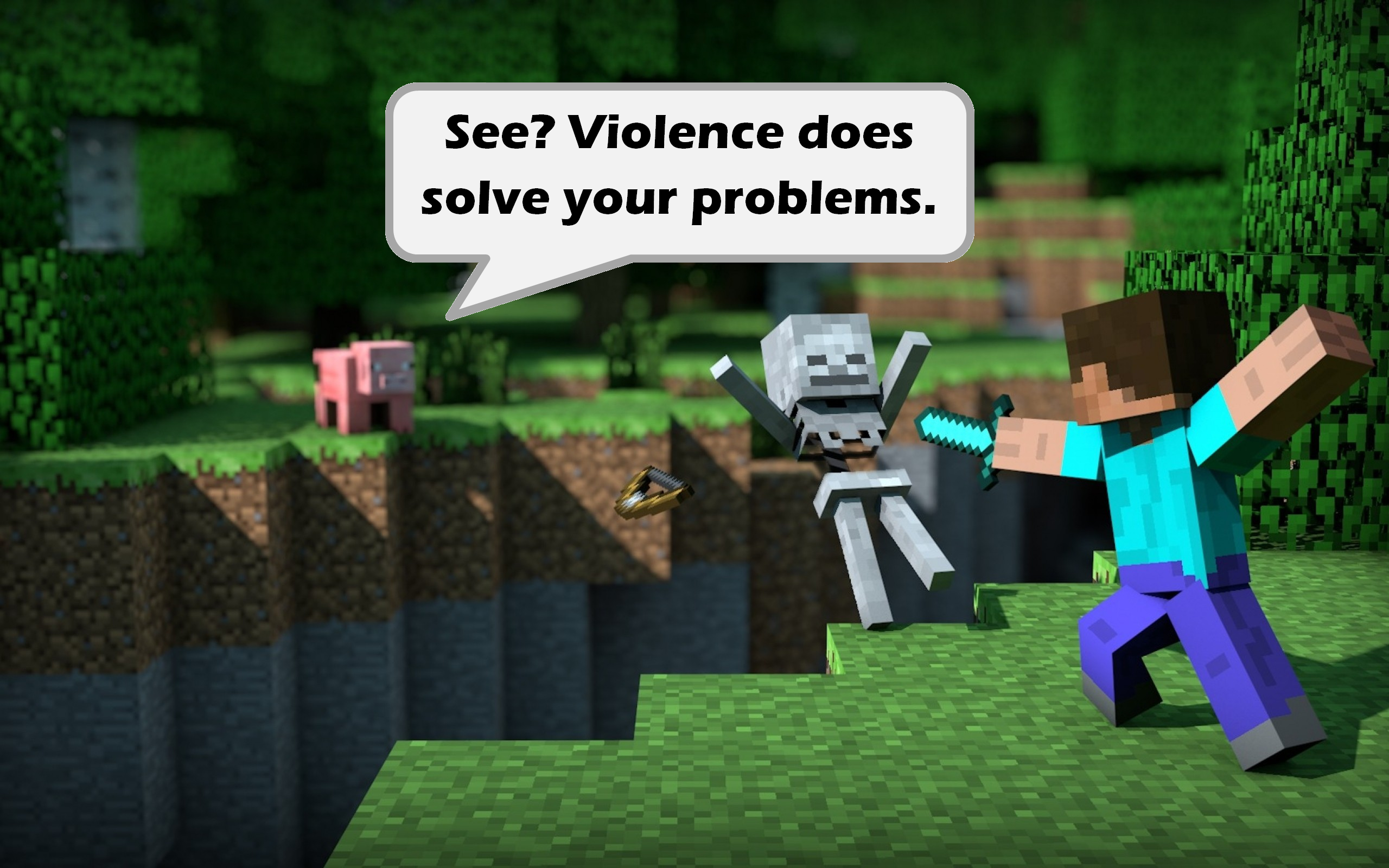is minecraft bad or good