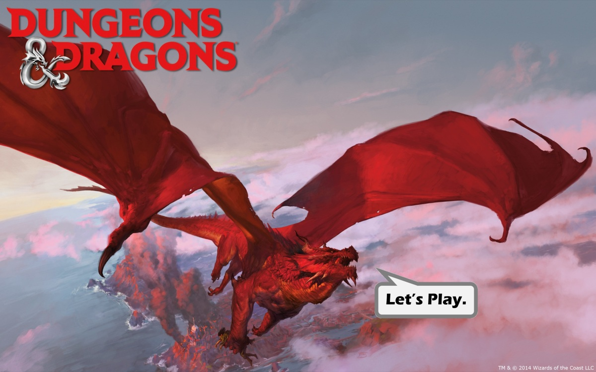 Why should YOU play D&D? Reason #1