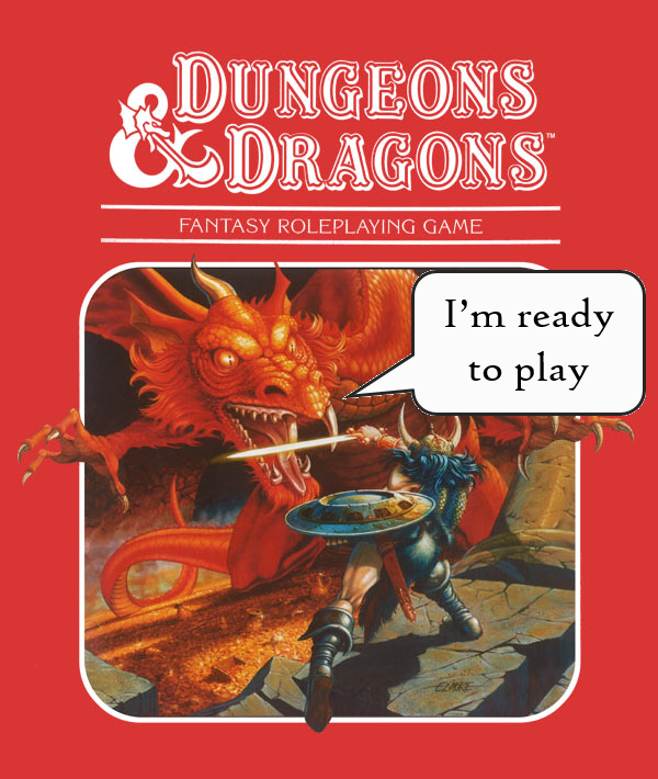 Why should YOU play D&D? Reason #4